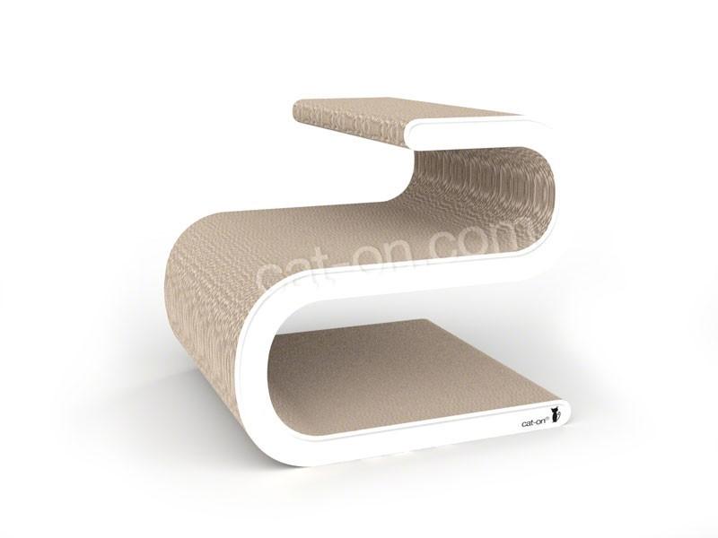 arbre chat griffoir en carton ligne s. Black Bedroom Furniture Sets. Home Design Ideas