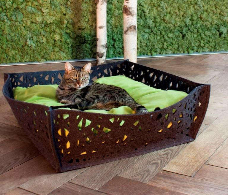 panier pour chat et chien bowl nido anthracite. Black Bedroom Furniture Sets. Home Design Ideas