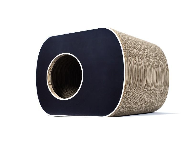 griffoir niche en carton pour chat brochhaus jnr. Black Bedroom Furniture Sets. Home Design Ideas